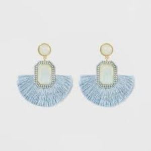 SUGARFIX by BaubleBar Monochrome Fringe Earrings